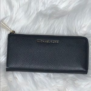 Michael Kors Bedford Large Leather Wallet NEW